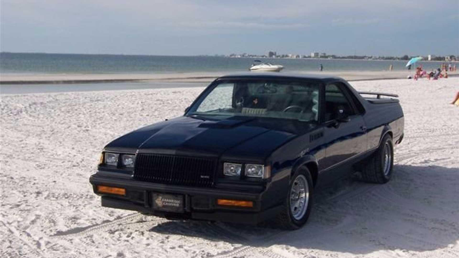 "[""1984 'Grand Camino' Combines Chevy And Buick Flare""]"