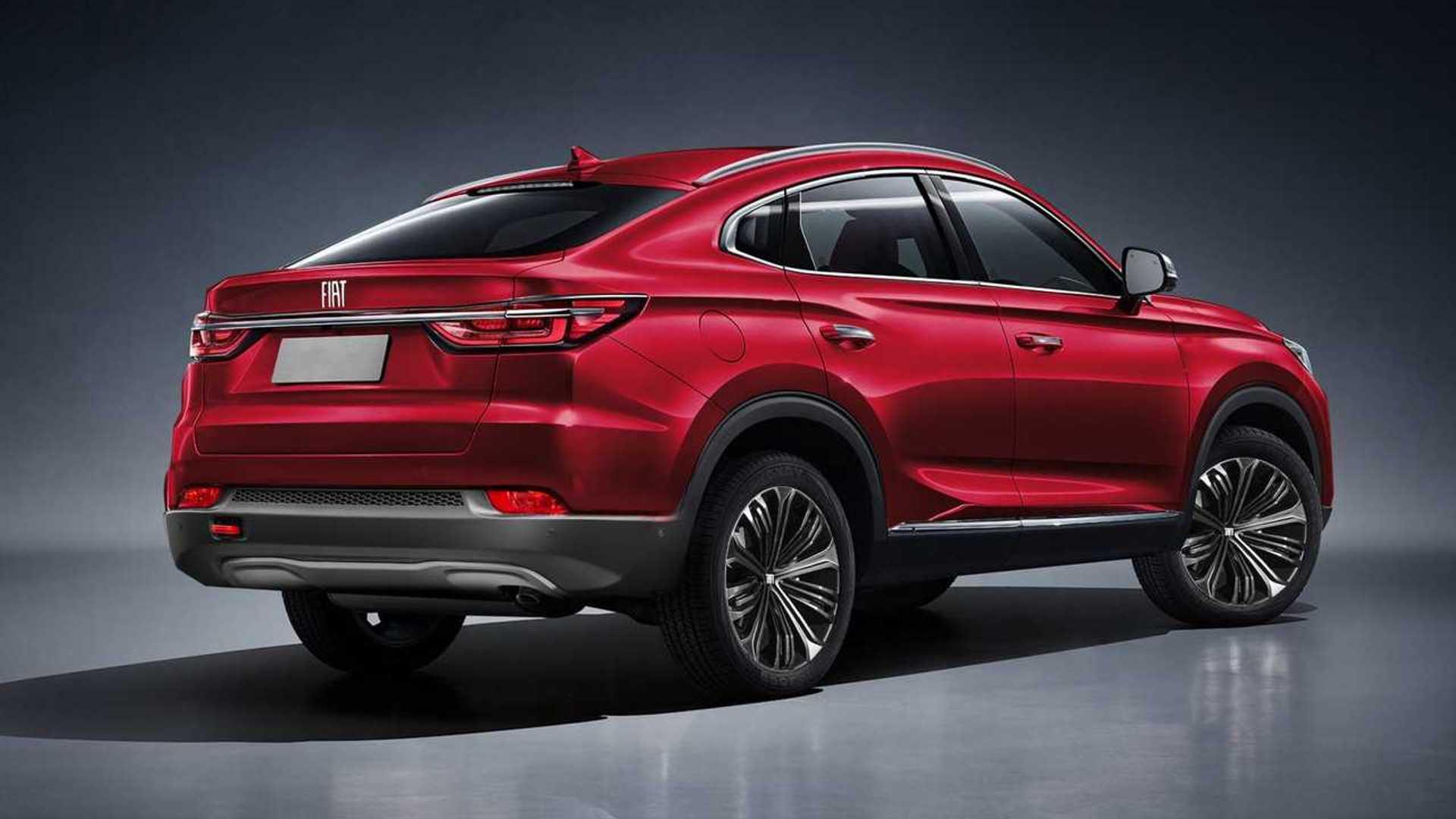 Projeções antecipam novos Fiat SUV cupê e Toro reestilizada Projecoes-fiat-fastback-2021-e-toro-2020