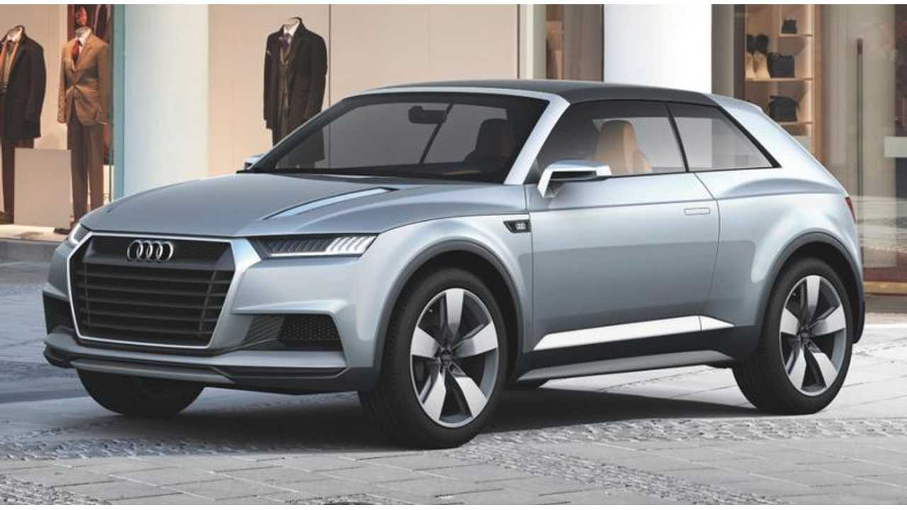 Audi Crosslane Coupe Features A 17 kWh Lithium Battery