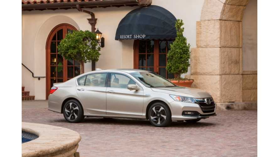2014 Honda Accord PHEV First Gas-Burner to Meet CARB's Stringent SULEV20 Regulation