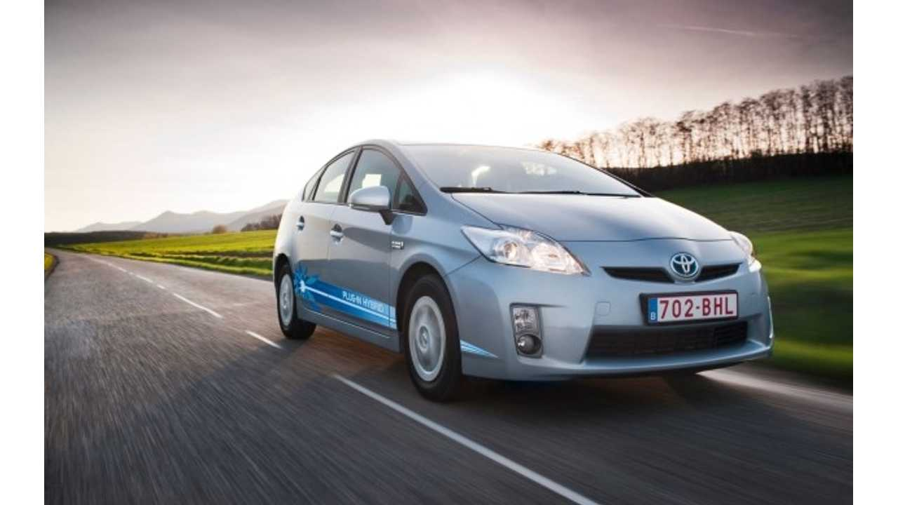 Finally, The Plug-In Prius Gets The Same Respect As The Chevrolet Volt. $100 Fee Applies To Both...And The Standard Prius Hybrid Too!