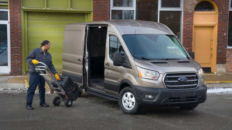 Ford Transit Connect >> 2020 Ford Transit | Motor1.com Photos