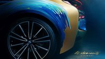 BMW i8 Roadster 4 Elements Art Car by Milan Kunc
