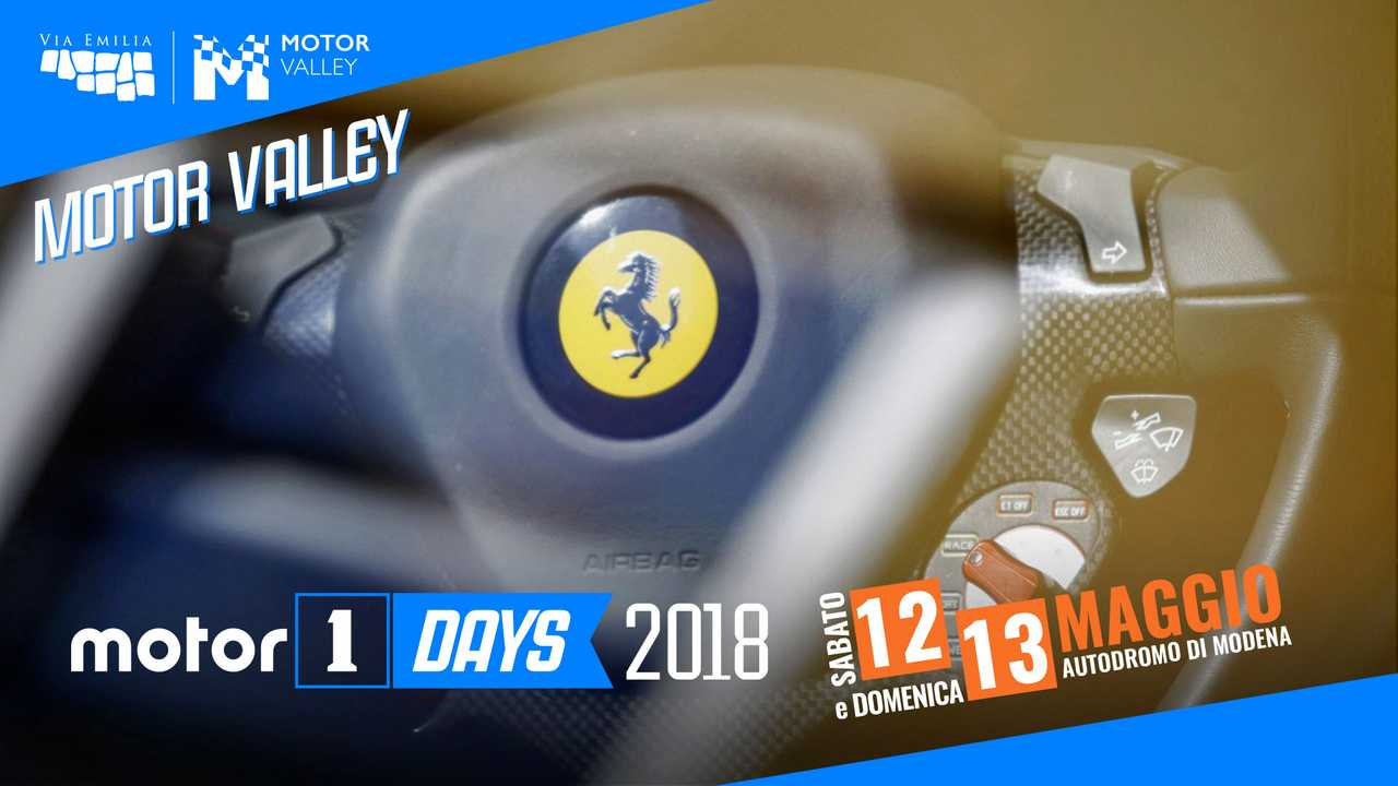 Motor1Days 2018 MotorValley logo