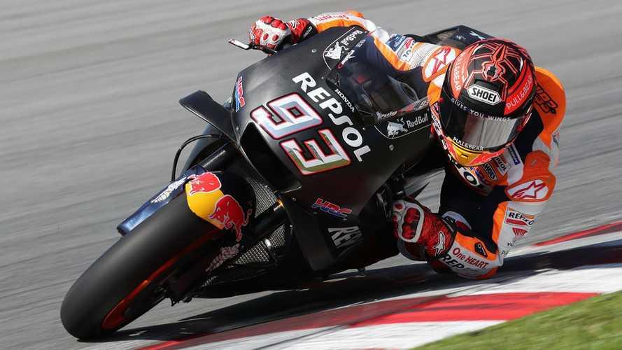 MotoGP: Marquez è già il più veloce nei test a metà giornata
