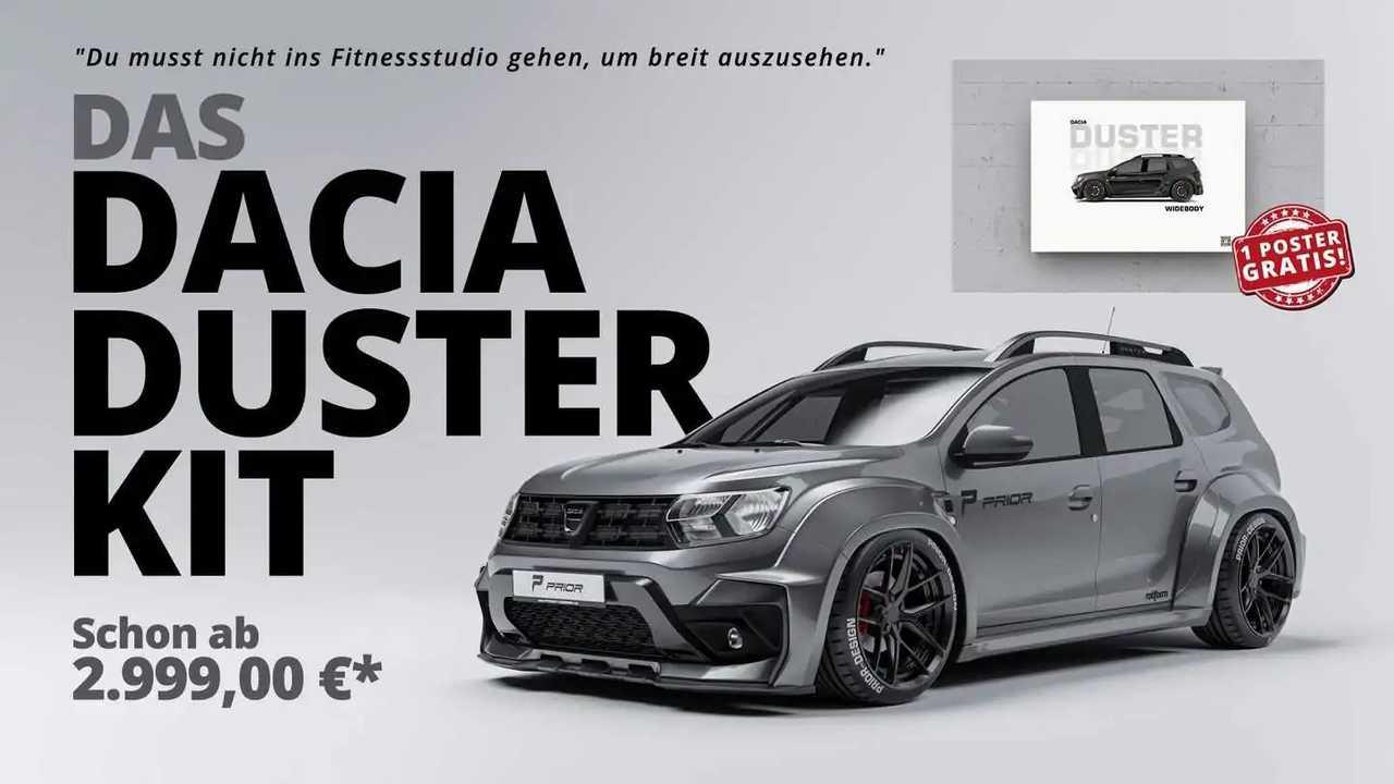 Dacia Duster de Prior Design