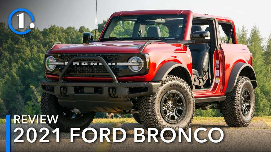 2021 Ford Bronco First Edition Review: Keep On Rocking In The Real World