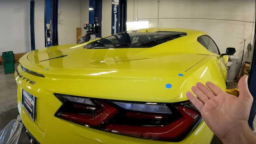 Daha önce spoilerı olmayan bir 2021 Corvette Z51 gördünüz mü?