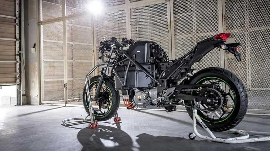 Kawasaki si dà all'elettrico: dal 2035 solo moto a zero emissioni