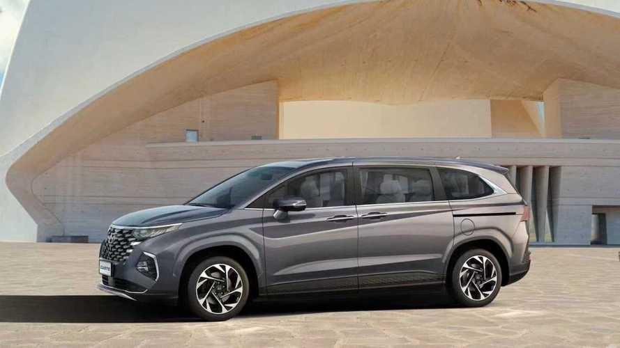 Раскрыты характеристики трехрядного Hyundai Custo