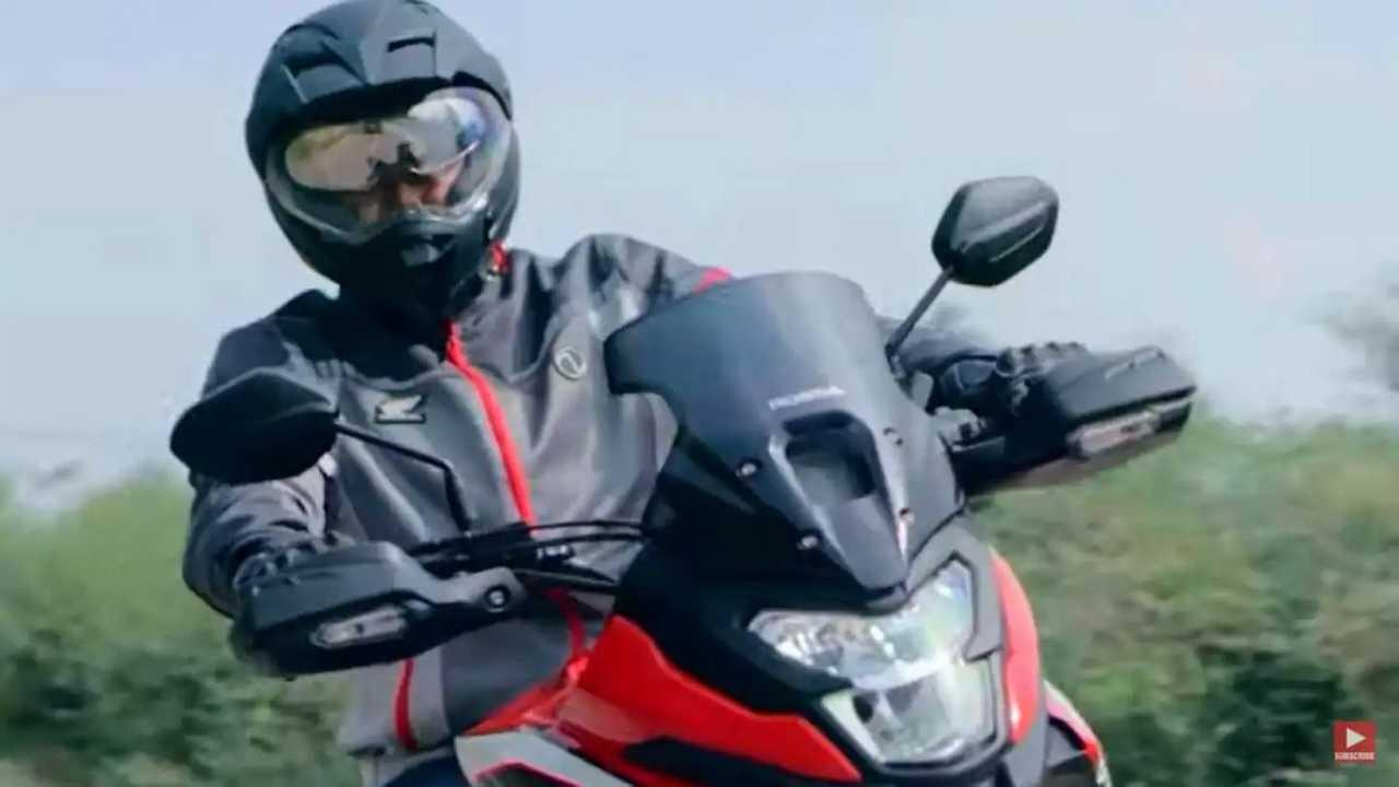 Nova Honda NX200 - Teaser