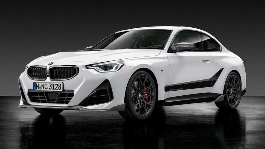 Así luce el BMW Serie 2 Coupé con accesorios M Performance Parts