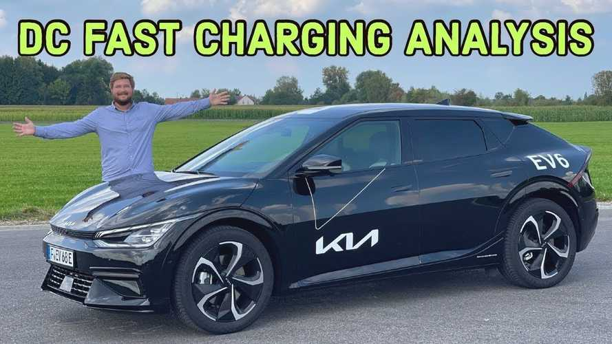 Kia EV6 Prototype Fast Charging Analysis: Very Fast But Quirky