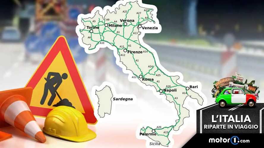 Cantieri stradali in Italia, dove sono e come evitarli