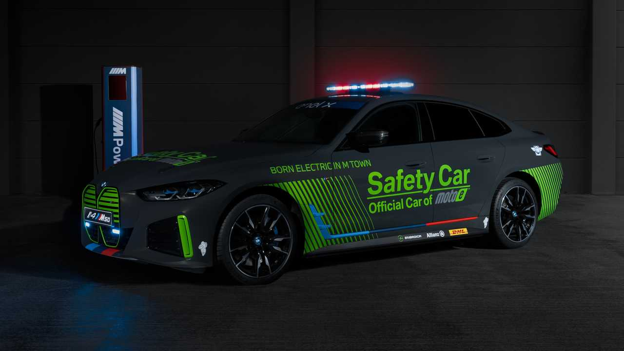 BMW first electric safety car