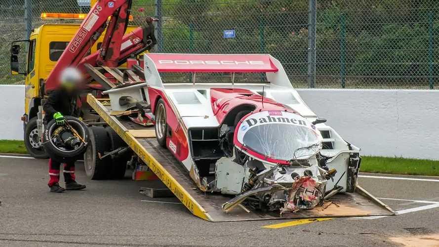 1 Million Euro teurer Porsche 962C wird zum Totalschaden