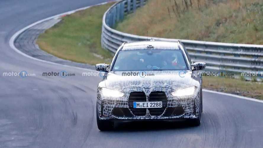 2022 BMW M3 Touring Spy Photos