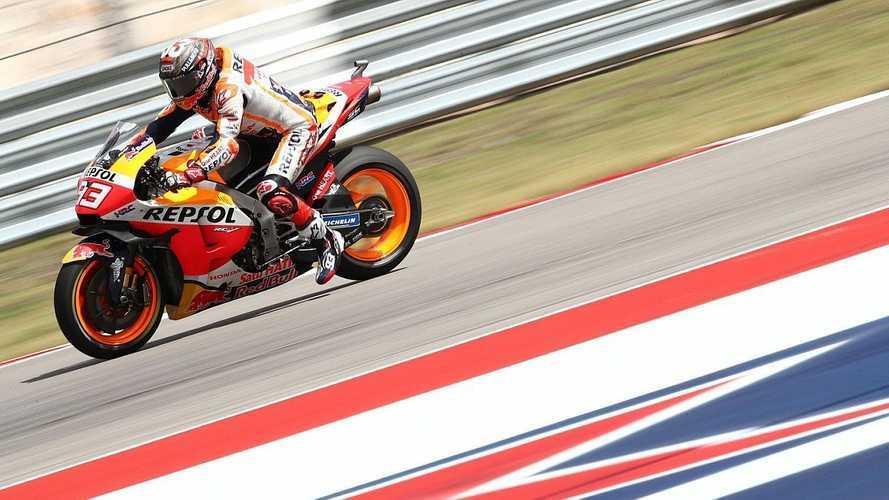 Márquez se da un festín en Austin en MotoGP