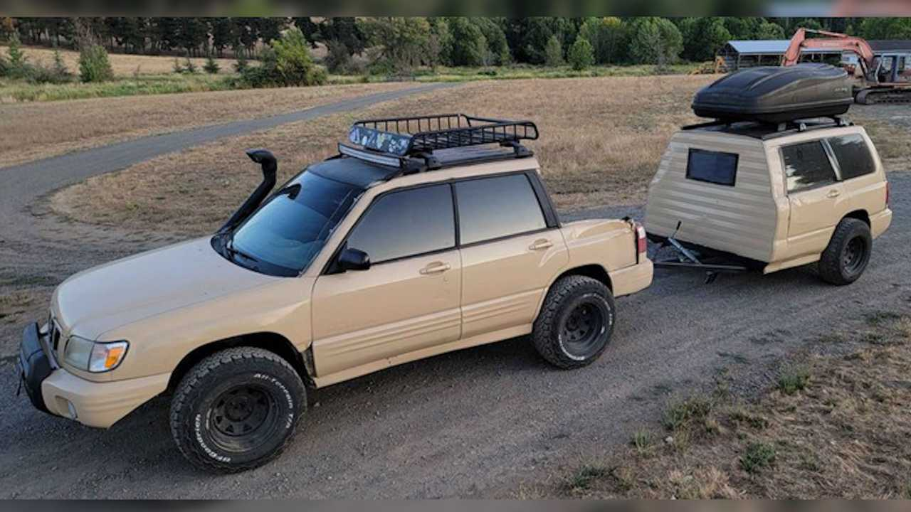 Homemade Subaru Forester ute is for sale.