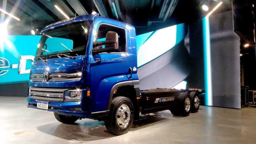 Caminhão elétrico VW e-Delivery tem detalhes e preços divulgados