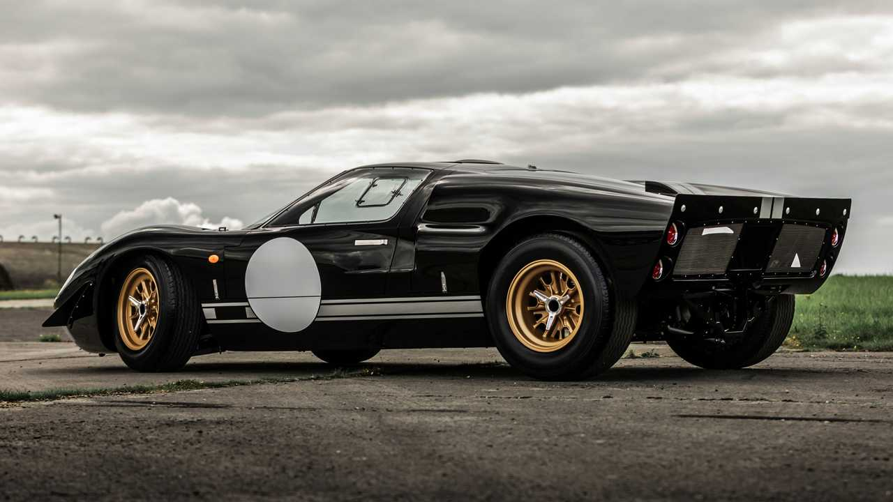 Everrati Superformance GT40 EV - Vista posteriore