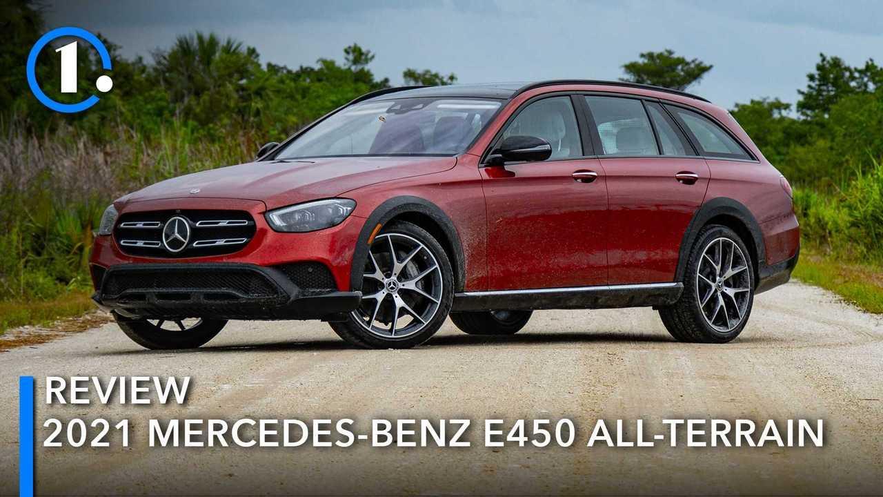 2021 Mercedes-Benz E450 All-Terrain Wagon