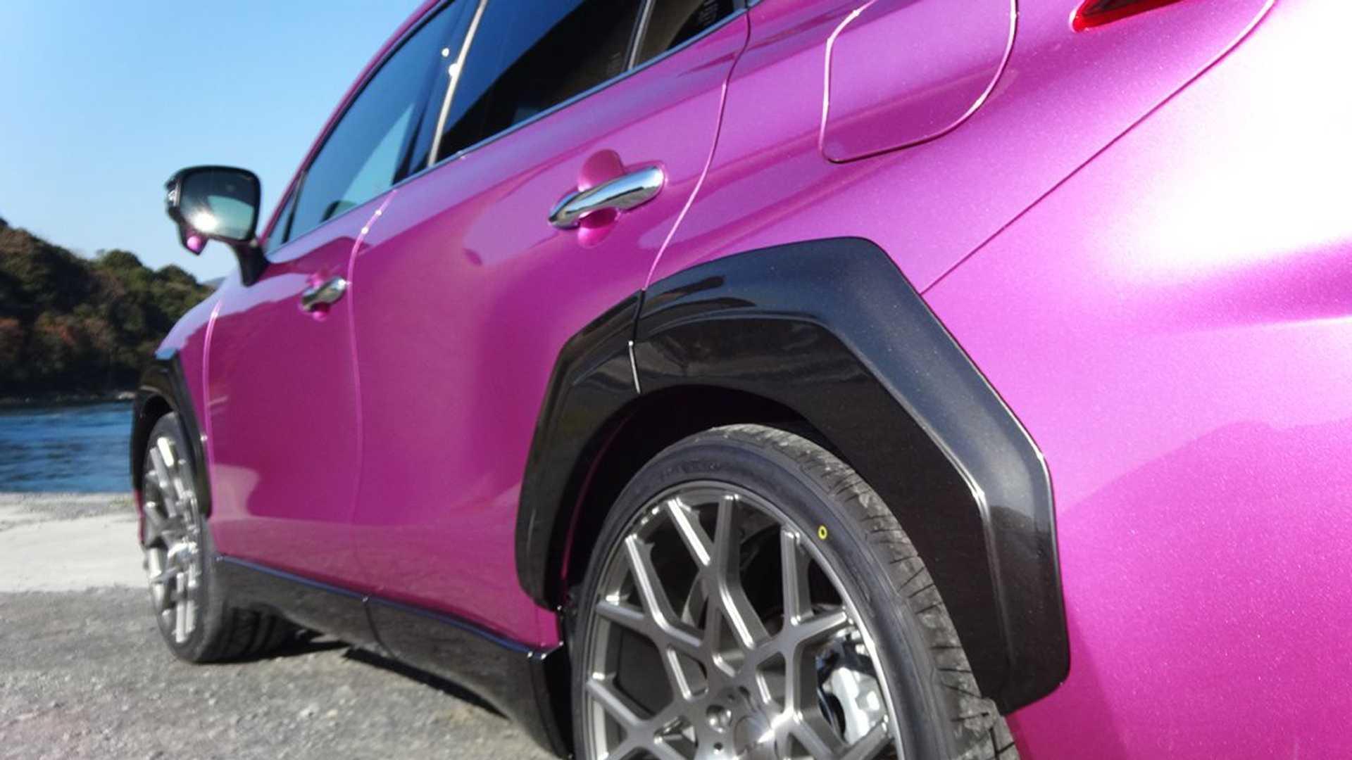 Toyota Venza Lamborghini Urus Body Kit By Albermo Fenders
