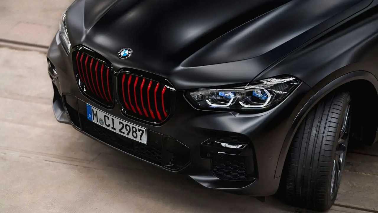 BMW X5 Black Vermilion