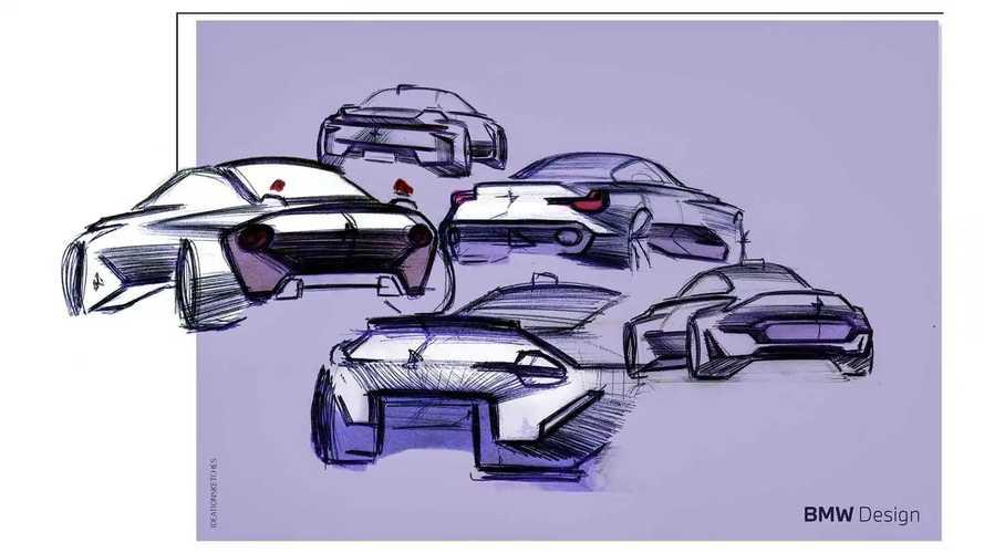 BMW 2er Coupé (2022) Skizzen