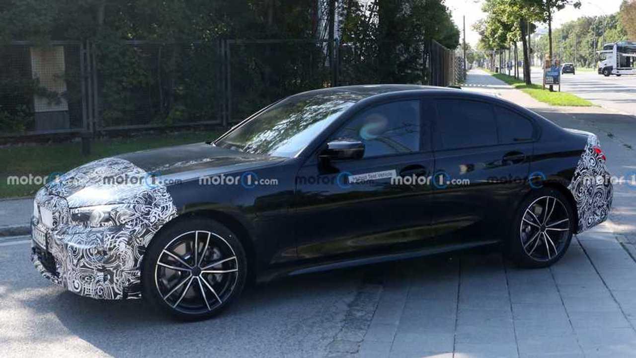 BMW 3 sorozat facelift új kém fotó