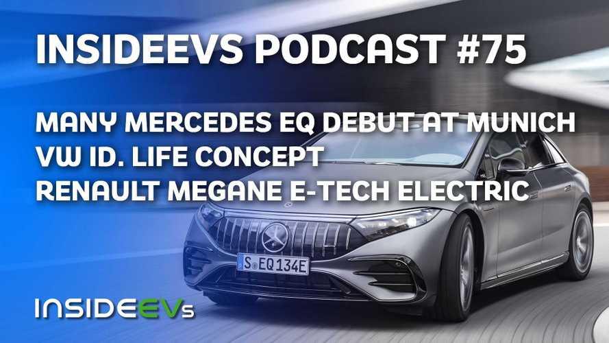 Many Mercedes EQ Models, VW ID. LIFE Concept Debut At IAA Mobility