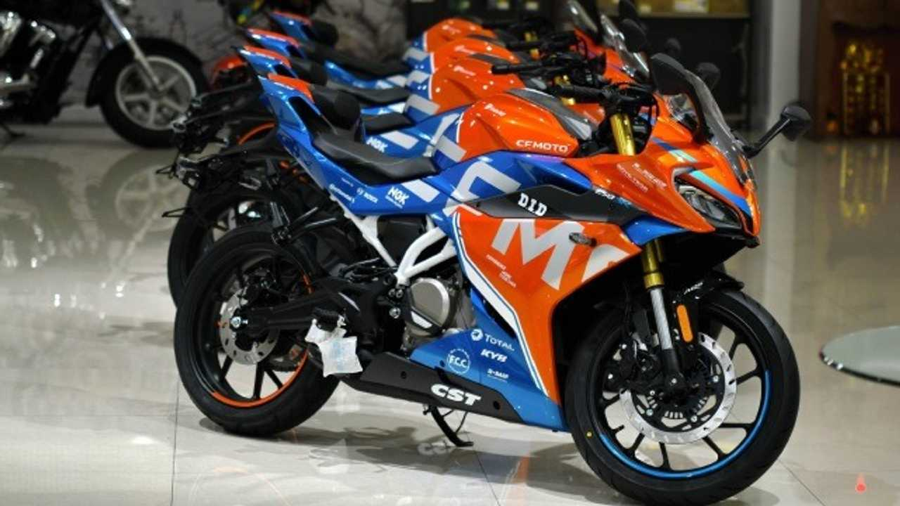 CFMOTO Unveils New Race Livery For 250SR