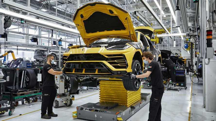 Laris Manis, Lamborghini Urus Unit ke-15 Ribu Jadi dan Siap Kirim