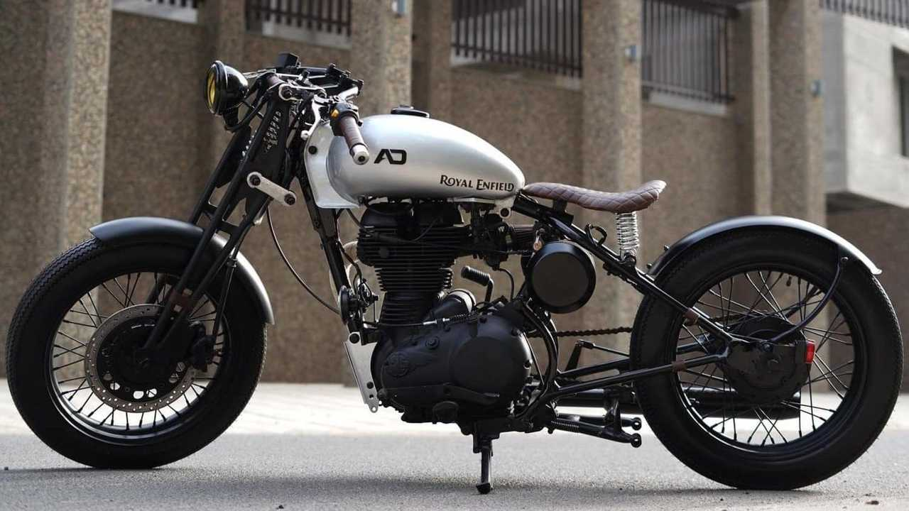 Tribal 350: Royal Enfield Classic 350 - Side, Left