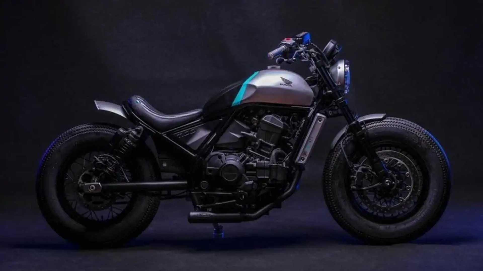 CMX Bobber: 2021 Honda Rebel 1100 - Side