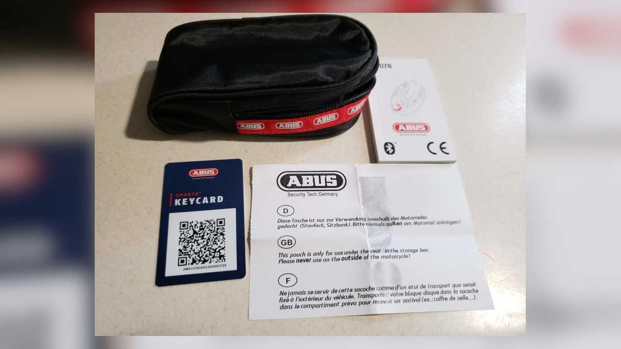 ABUS Granit Detecto SmartX Lock - Box Contents