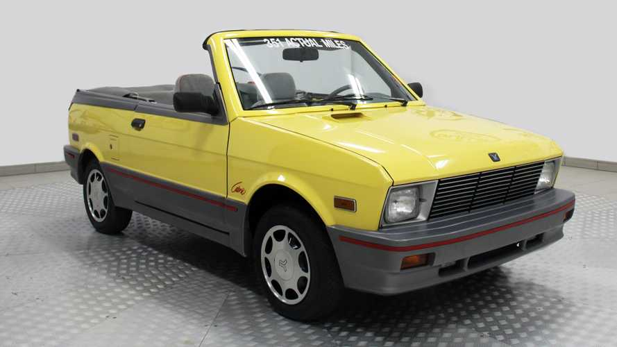 How Much Will This Yugo GVC Cabrio With 370 Miles Bring At Auction?