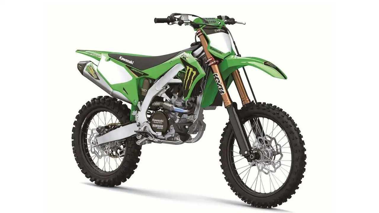 2022 Kawasaki KX450SR - Front, Right