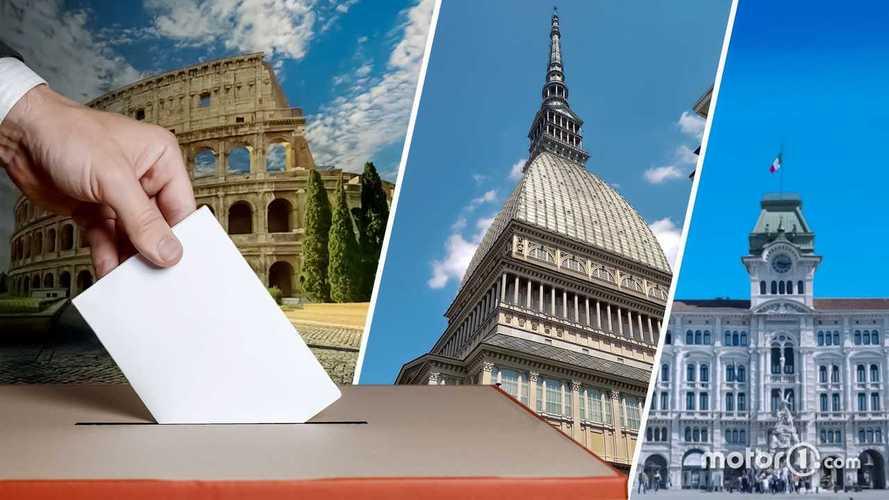 Elezioni: i piani per la mobilità a Roma, Torino e Trieste