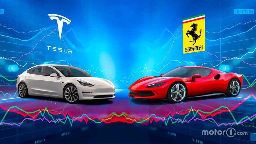 Perché sia Tesla che Ferrari volano in Borsa se sono agli antipodi?