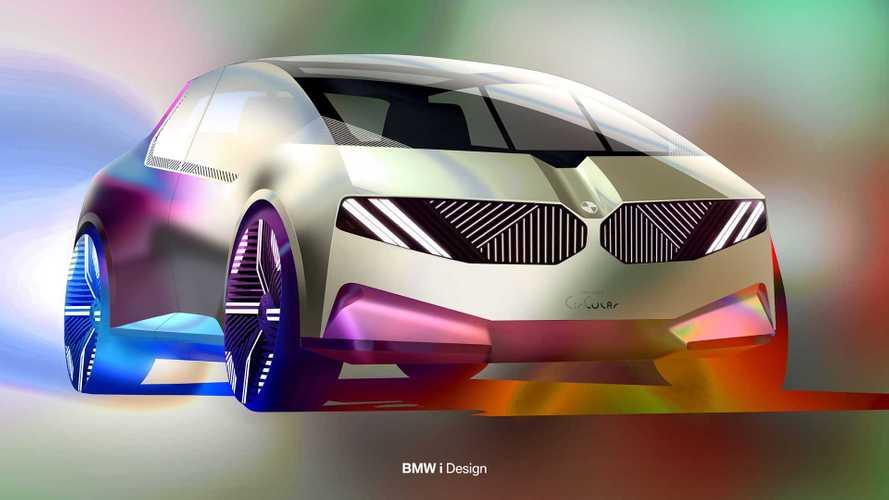 Geri dönüştürülebilir bir şehir aracı: BMW i Vision Circular