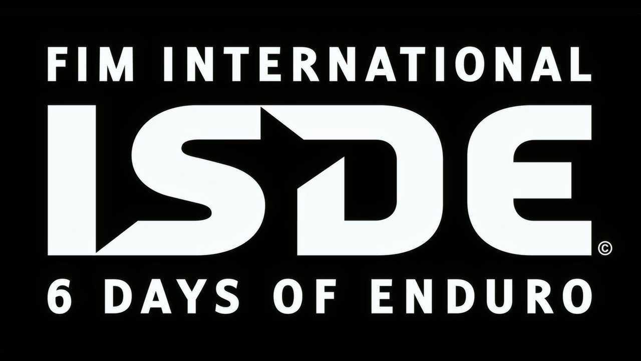 FIM ISDE 2021 Logo