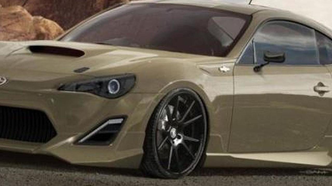 Scion Frs Custom >> Custom Scion Fr S For Sema 25 10 2012 Motor1 Com Photos