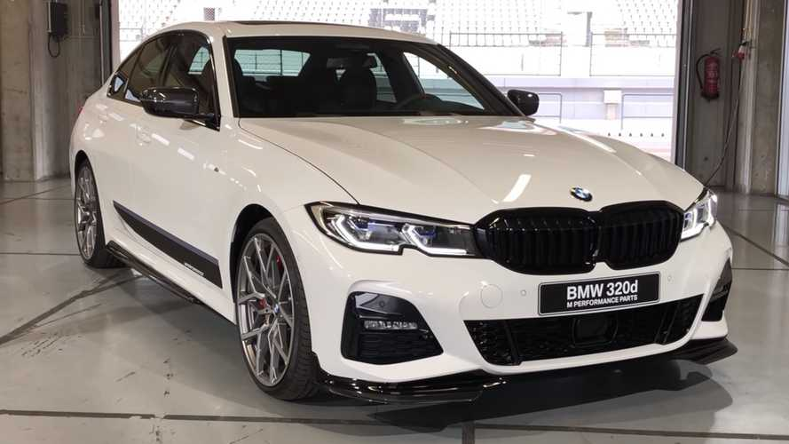 2019 BMW 3 Series With M Performance Parts Poses For The Camera