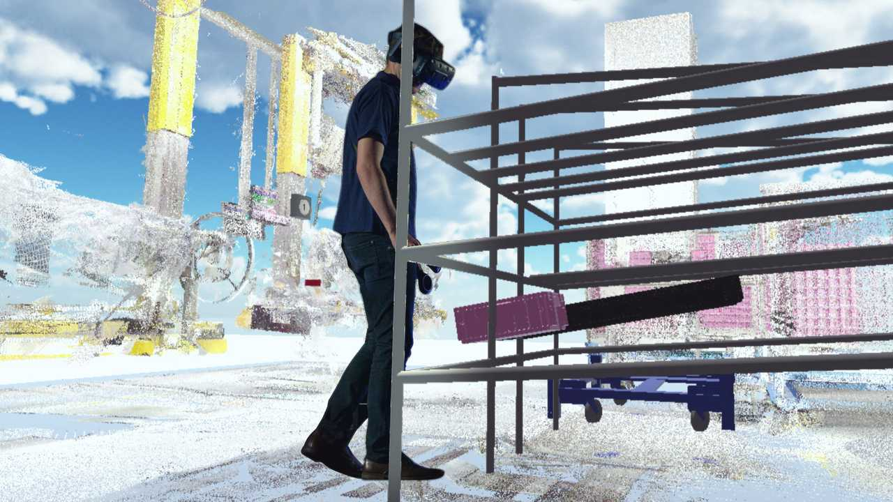 Virtual Reality in BMW Group Production