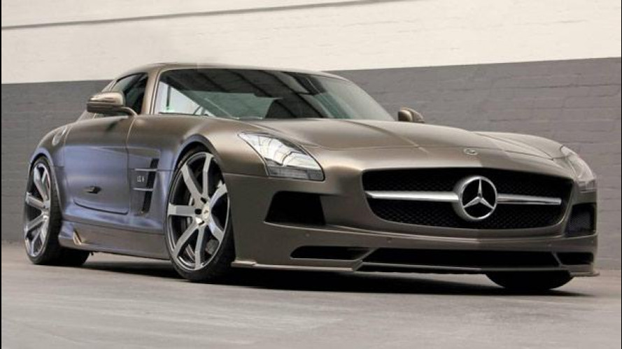 SLS AMG DD Customs, sound al titanio