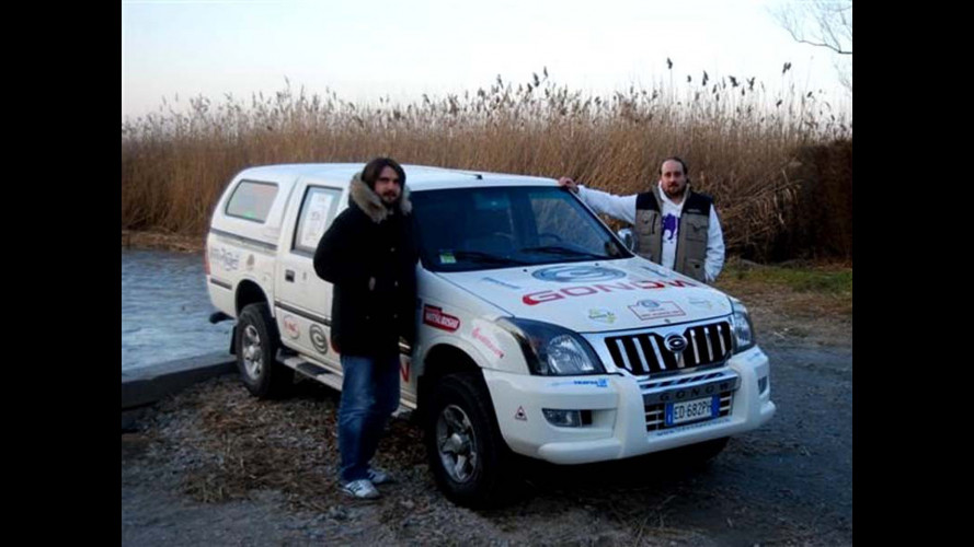 Gonow GA200, a Volgograd e ritorno