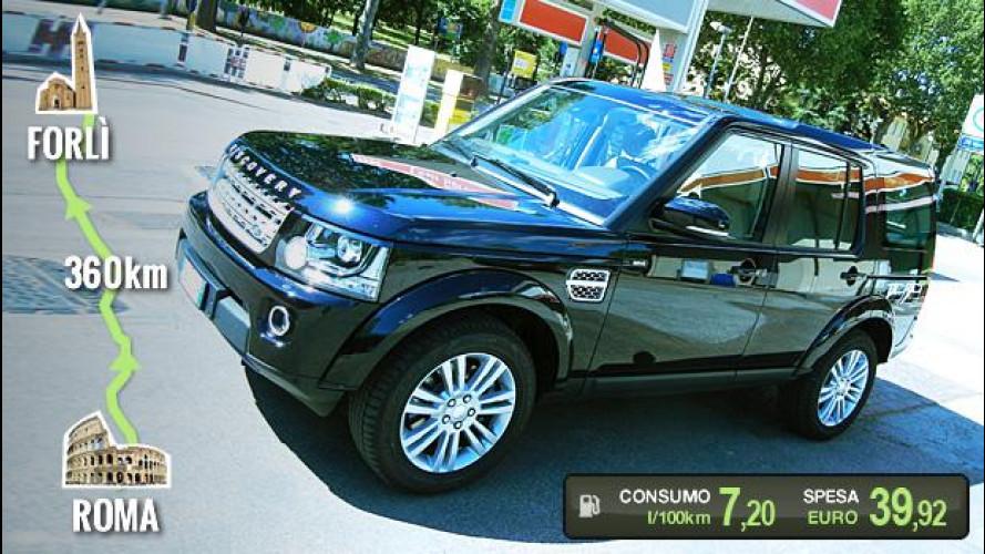 """Land Rover Discovery, la prova dei consumi """"reali"""""""