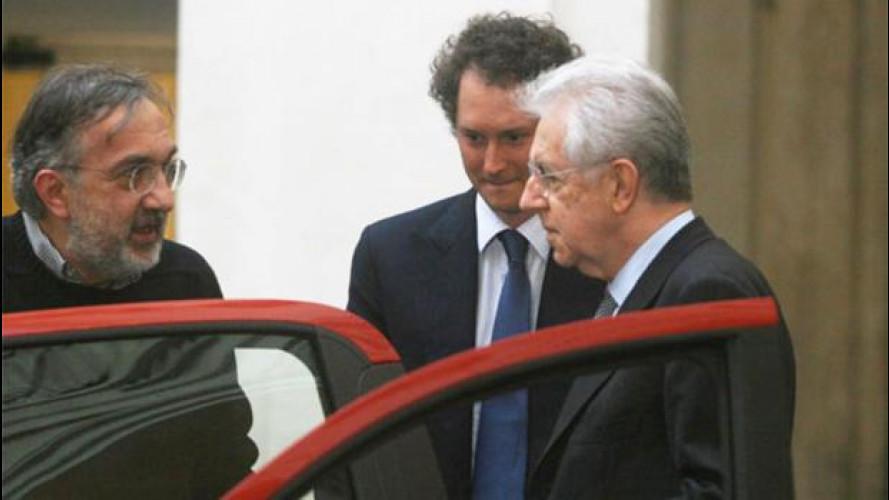 Fiat-Governo: le reazioni dopo l'incontro tra Monti e Marchionne