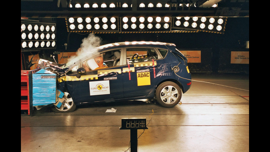Crash Test nuova Ford Fiesta